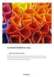 Lernwerk Kollektion 2013