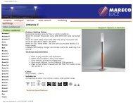 Gruppo MARECO Luce - Laser Lighting
