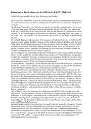Jahresbericht 2000 - Evangelische Krankenhausseelsorge in ...