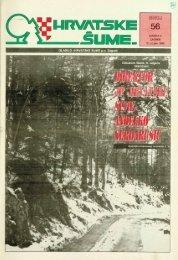 HRVATSKE ŠUME 56 (13.3.1996.)