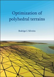 Optimization of polyhedral terrains