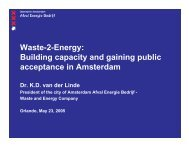 Waste-2-Energy: Building capacity and gaining public acceptance in ...