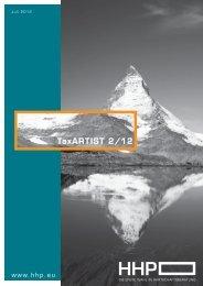 TaxARTIST 2/12 ARTIST 2/12 - HHP - Hammerschmied ...