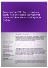 Analysis of the 2011 Lancet study on deaths from overdose in the ...