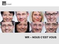 Présentation - WR Gruppe