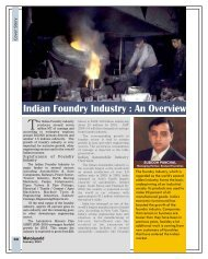 Indian Foundry Industry - Metalworld.co.in
