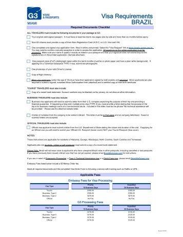 REQUIREMENTS FOR SHORT STAY VISA - Austria Visa Information
