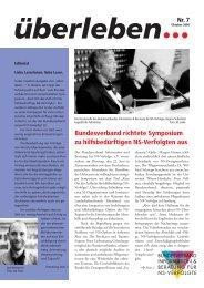 Überleben 7/2004 - Bundesverband Information und Beratung für ...