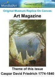Art Magazine: Caspar David Friedrich