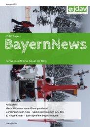 JDAV Bayern Schwerpunktthema: Unfall am Berg