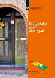 Energielabel voor woningen - Bespaar energie met de Woonbond