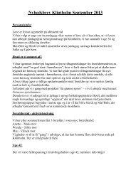 Nyhedsbrev Klintholm September 2013 - bornehavengfk.dk