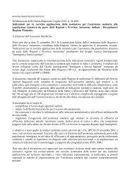 Deliberazione della Giunta Regionale 2 luglio 2012, n. 24-4081 ...