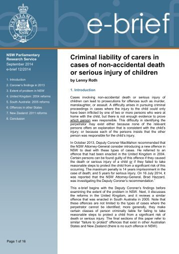 consider the criminal liability of the