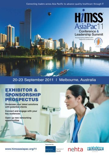 HIMSS2011 Melbourne Prospectus@060511 - HIMSS AsiaPac