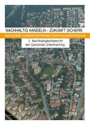 nachhaltig handeln – zukunft sichern - Gemeinde Unterhaching