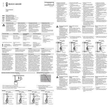 Drehzahlsteller 2296 - E-Katalog Archiv
