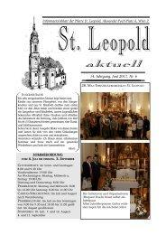 aktuell - 2., Pfarre St. Leopold