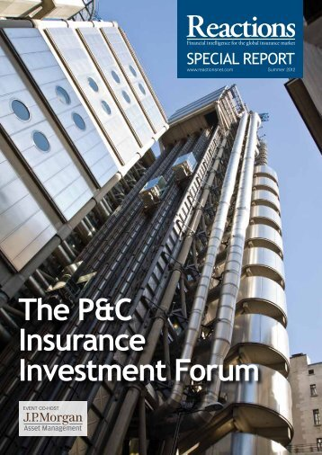The P&C Insurance Investment Forum - Reactions