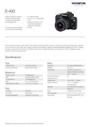 E-400, Olympus, Digital SLR