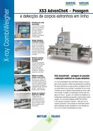 X-ray CombiW eigher - METTLER TOLEDO