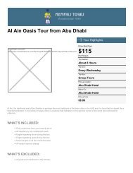 Al Ain Oasis Tour from Abu Dhabi - Memphis Tours Egypt