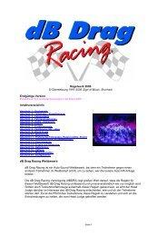 Db-Drag Regelwerk 2006 - Car Hifi Audio Neuigkeiten und Infos