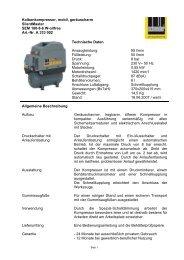 Nr. A 333 002 Technische Daten Ansaugleistung - Dt-druckluft.de