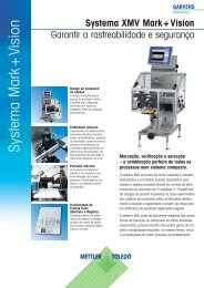 Systema Mark + Vision - METTLER TOLEDO