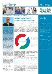 Update 01-2010 - Rhein-Erft-Akademie