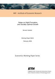 Notes on Habit Formation and Socially Optimal Growth - CER-ETH