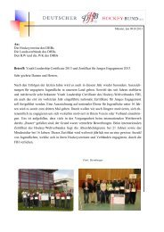 Informations-Anschreiben (pdf) - Deutscher Hockey Bund e.V.