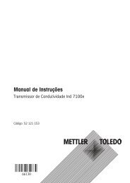 Cond Ind 7100e - METTLER TOLEDO