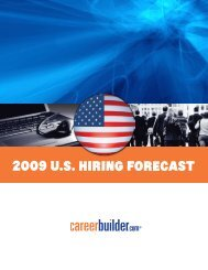 2009 U.S. Hiring ForecaSt - Icbdr