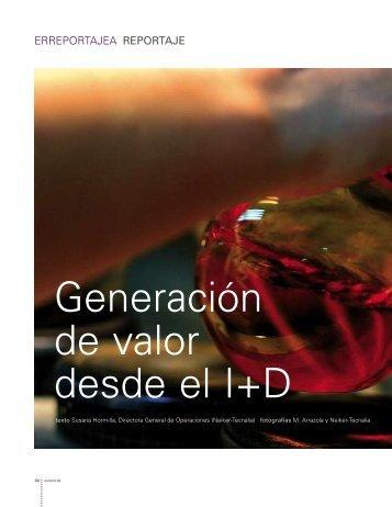 Generación de valor desde el I+ D