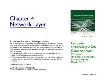 IP address - Network Protocols Lab