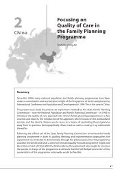 Focusing on Quality of Care in the Family Planning ... - Academy