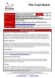 Item 05e - Update from BSCB.pdf - Bromley Partnerships