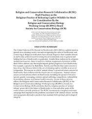 Religious Practice of Releasing Captive Wildlife for Merit