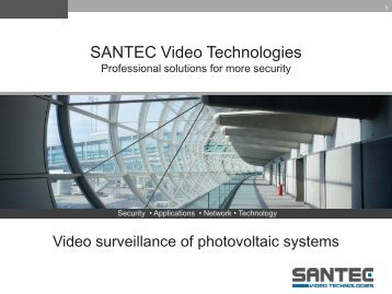 Folie 1 - SANTEC Video