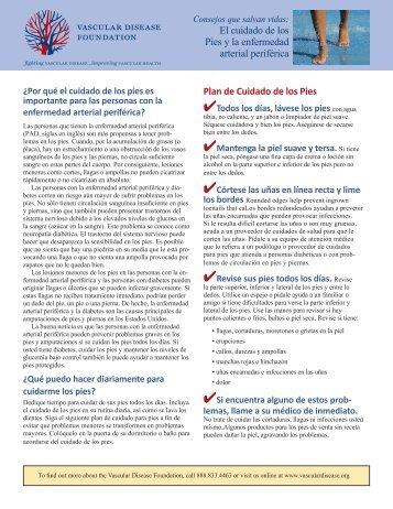 Plan de Cuidado de los Pies El cuidado de los Pies y la enfermedad ...