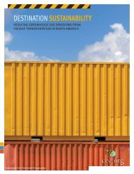 Destination SuStainability - Railway Association of Canada