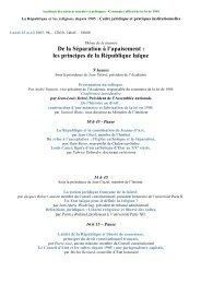 Colloque II - Académie des sciences morales et politiques