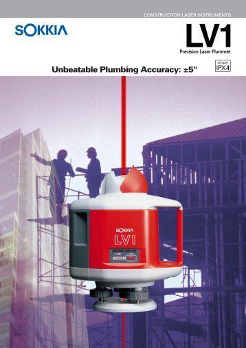Precision Laser Plummet LV1