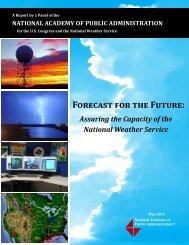Report - NOAA's Science Advisory Board
