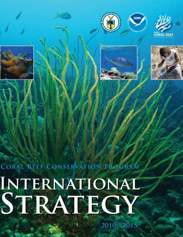 NOAA Coral Reef Conservation Program International Strategy 2010