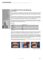 TouchWhite Er:YAG Tooth Whitening - Laser and Health Academy