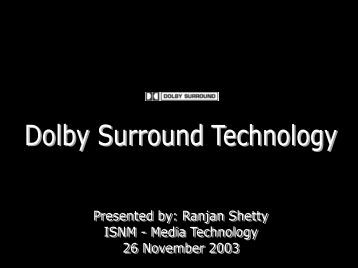 The man who founded Dolby Laboratories Inc. - Andreas Schrader