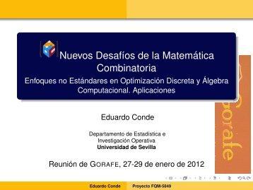Conde - Grupo.us.es - Universidad de Sevilla