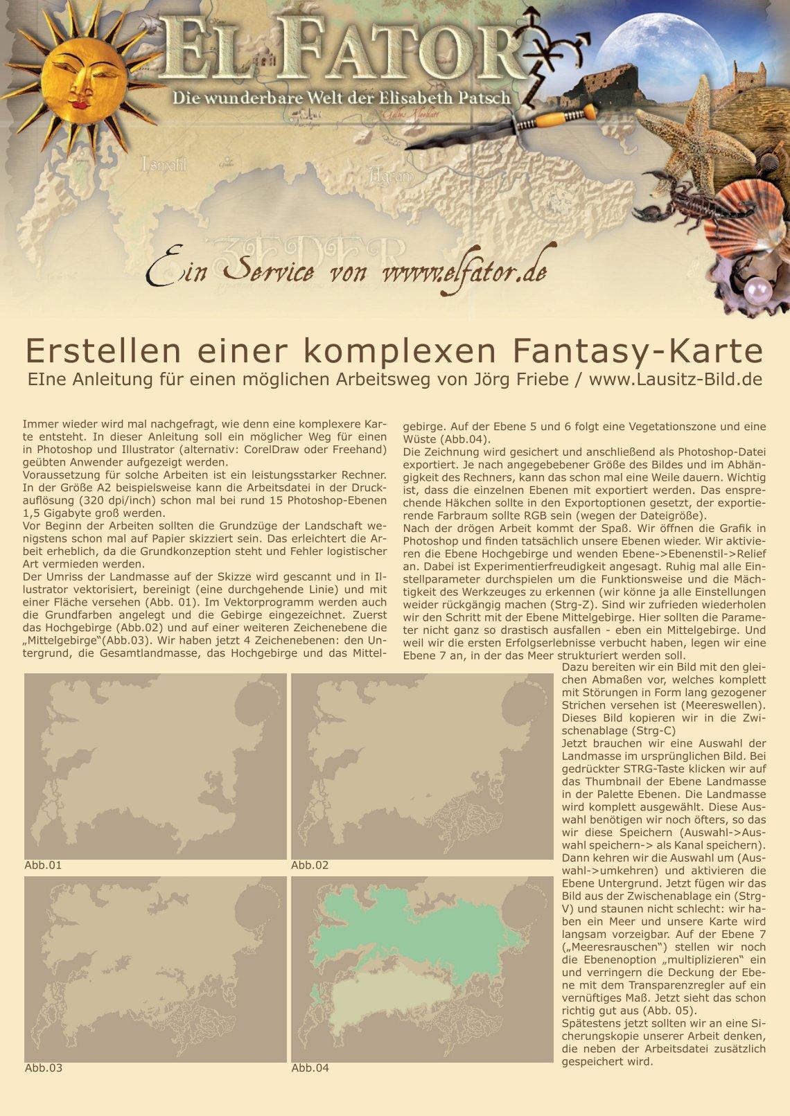 Fantasy Karte.1 Free Magazines From Elfator De